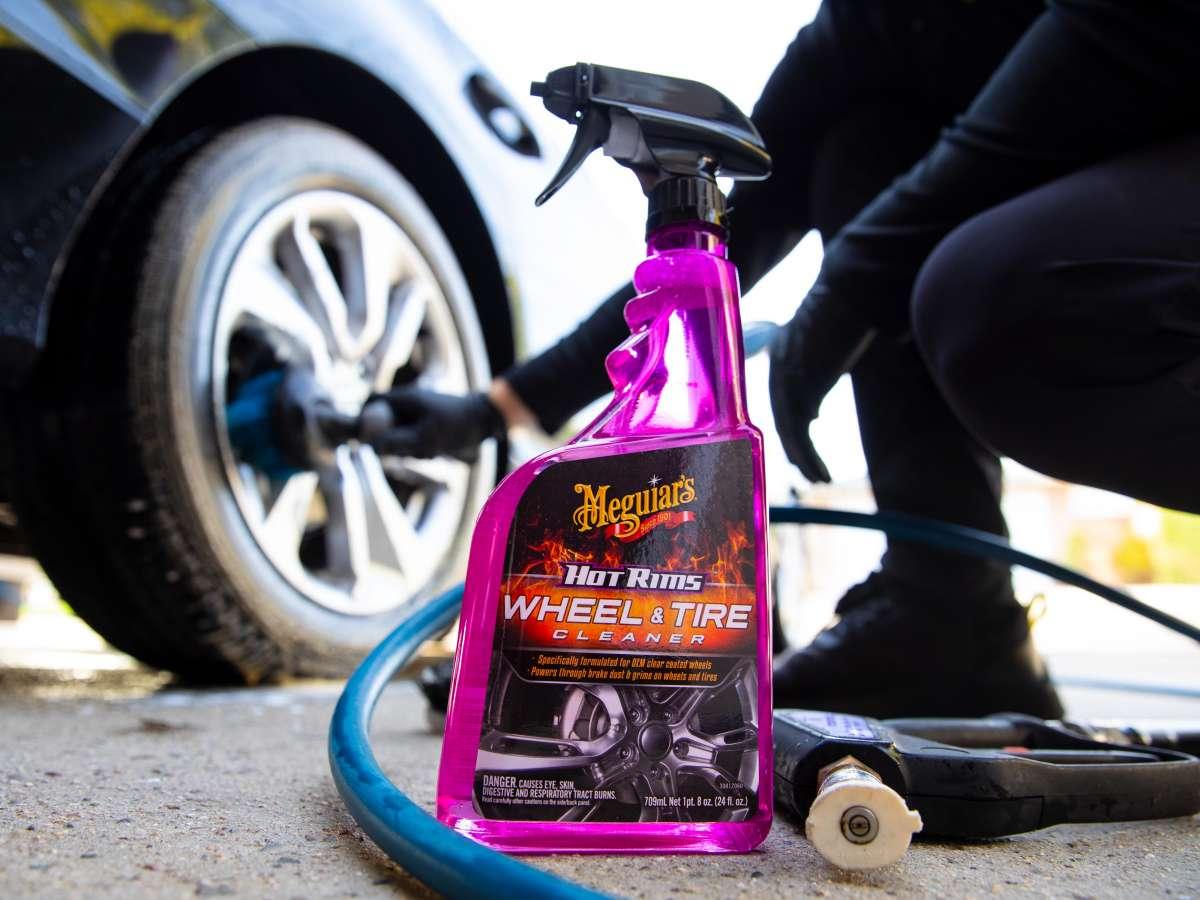Meguiar's Hot Rims Wheel & Tire Cleaner
