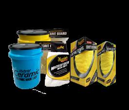Meguiar's Two Bucket Kit ( Yellow & Blue Bucket)