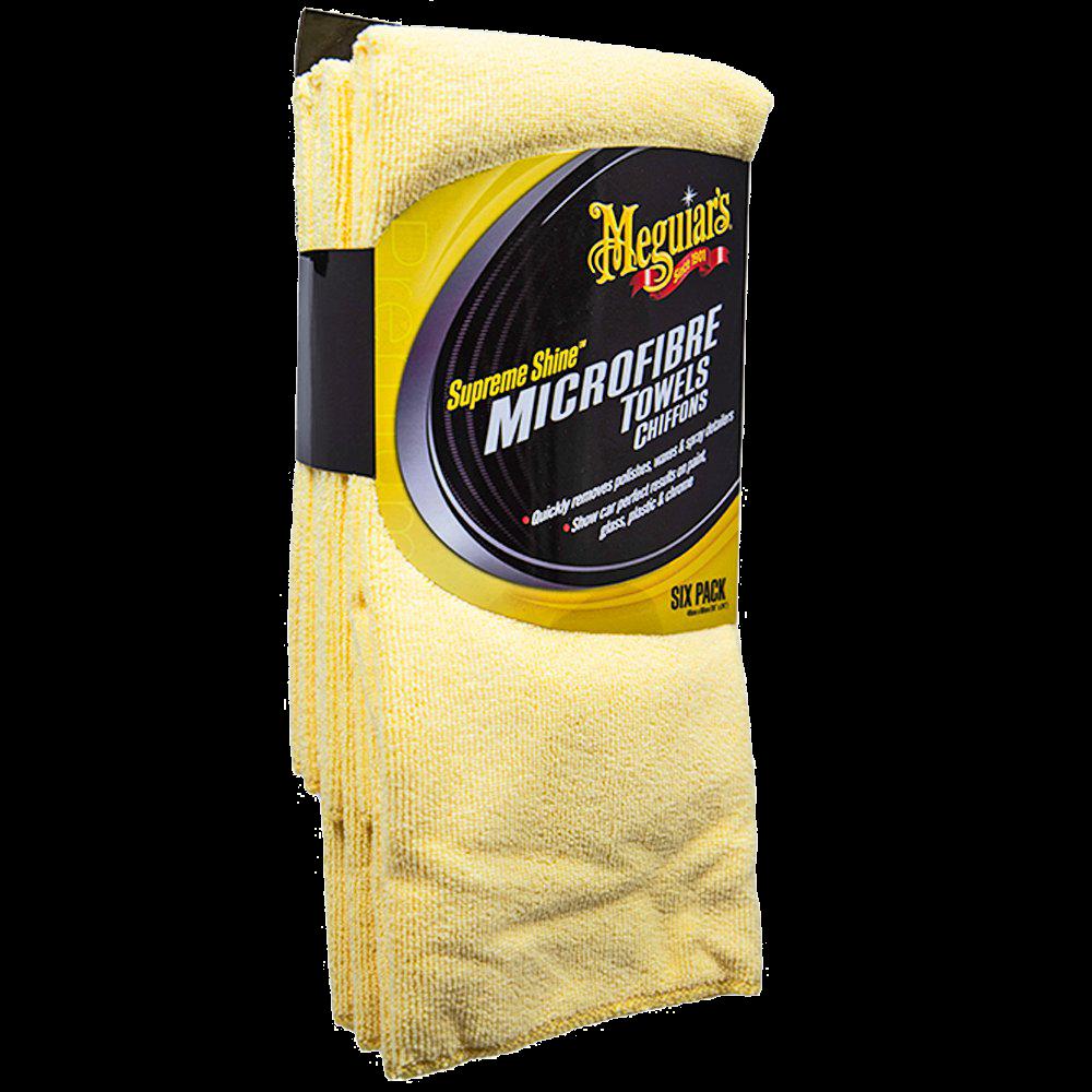 Meguiar's Supreme Shine Microfiber Towel (6pack)