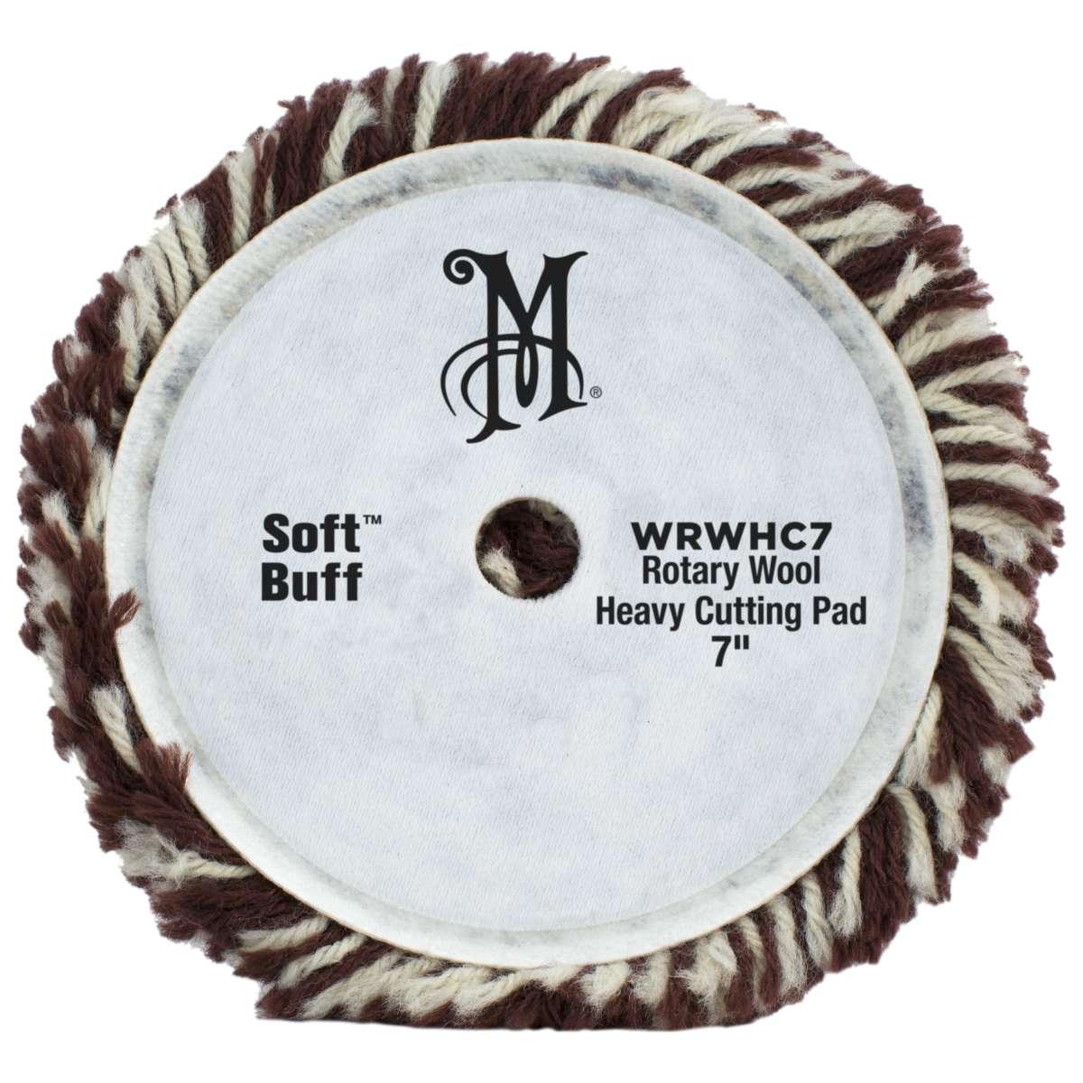 Meguiar's Soft Buff Rotary Wool Heavy Cutting Pad