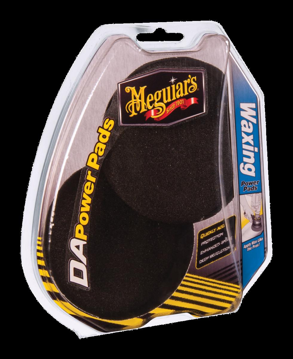 Meguiar's DA Power Pads Waxing