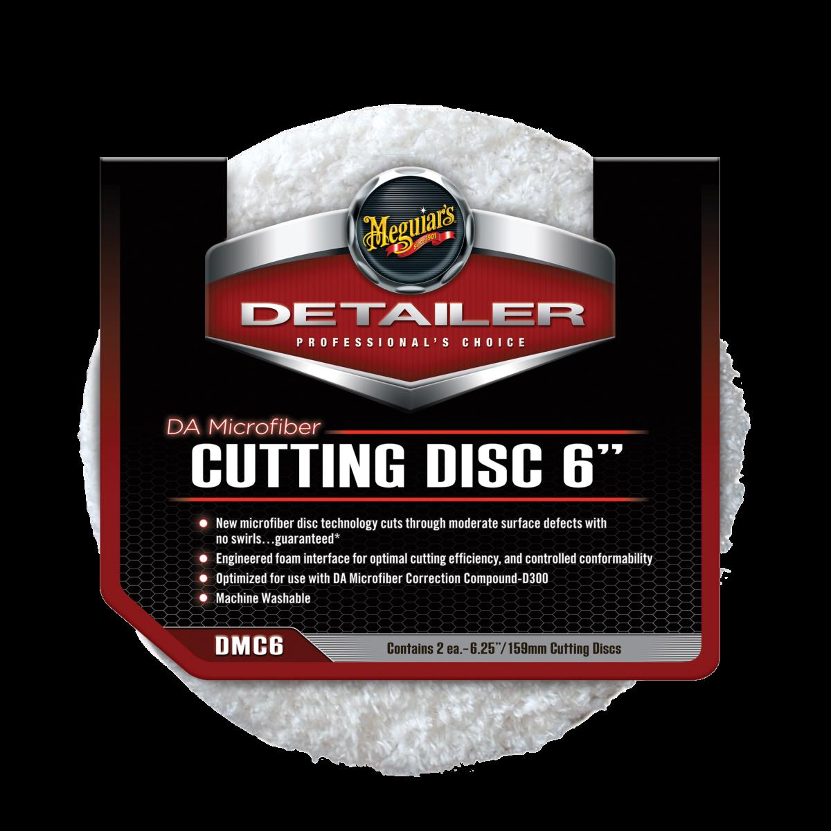 """Meguiar's DA Microfiber Cutting Disc 6"""""""
