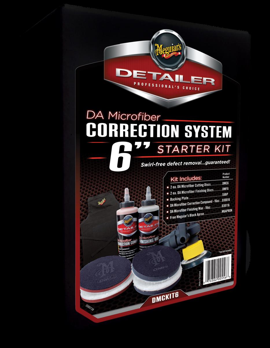 "Meguiar's DA Microfiber Correction System 6"""