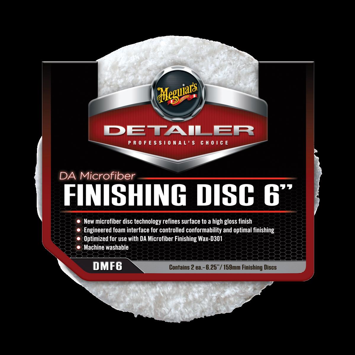 "Meguiar's DA Microfiber Finishing Disc 6"""
