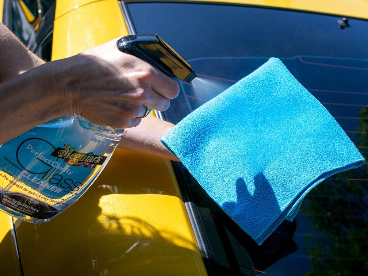 Meguiar's Perfect Clarity Glass Towel (single)