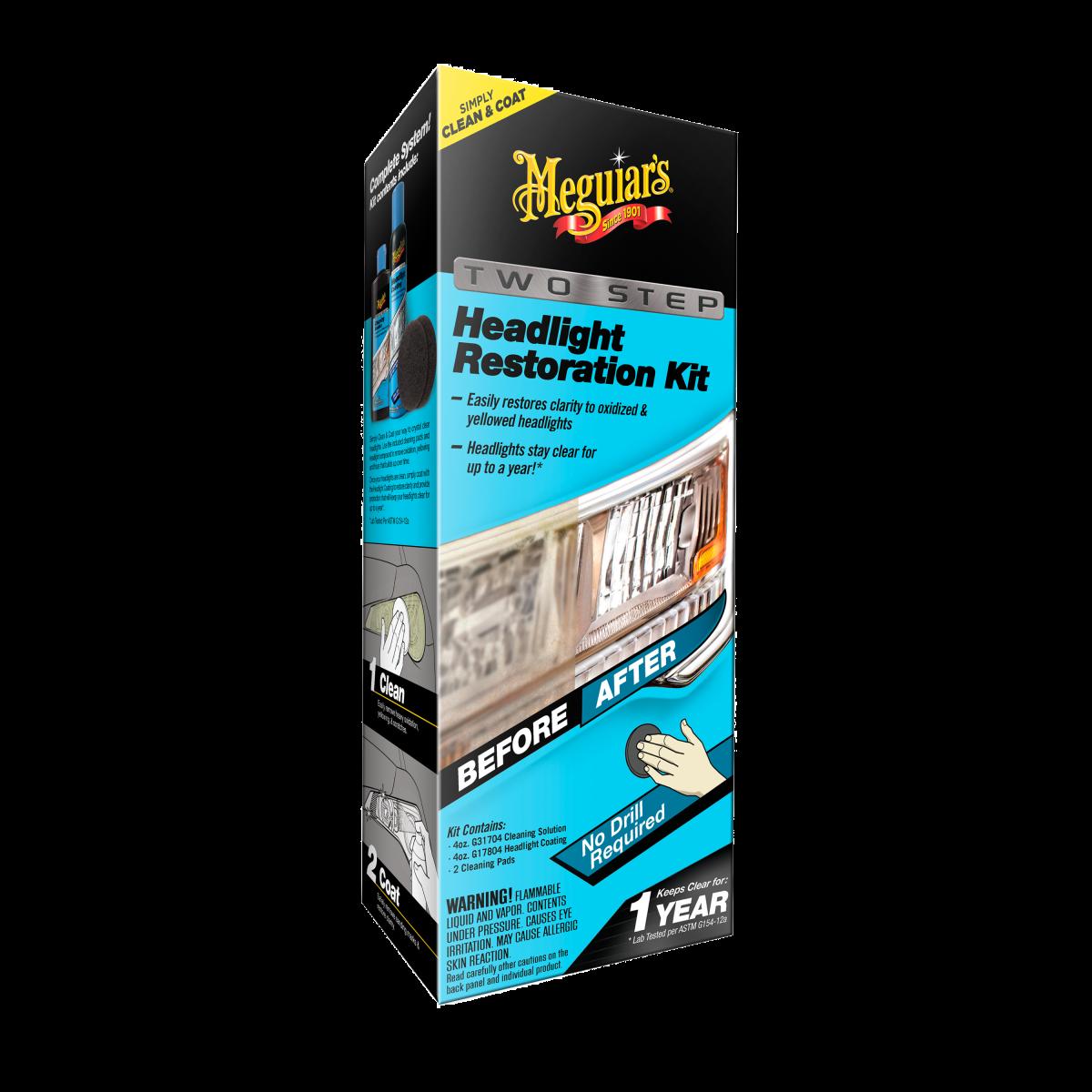 Meguiar's Perfect Clarity Two Step HeadLight Restoration Kit