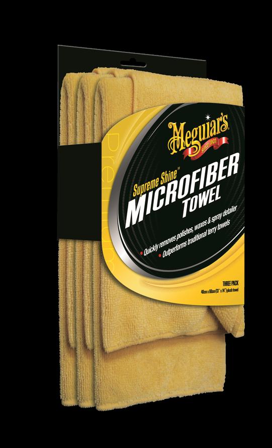 Meguiar's Supreme Shine Microfiber Towel (3pack)