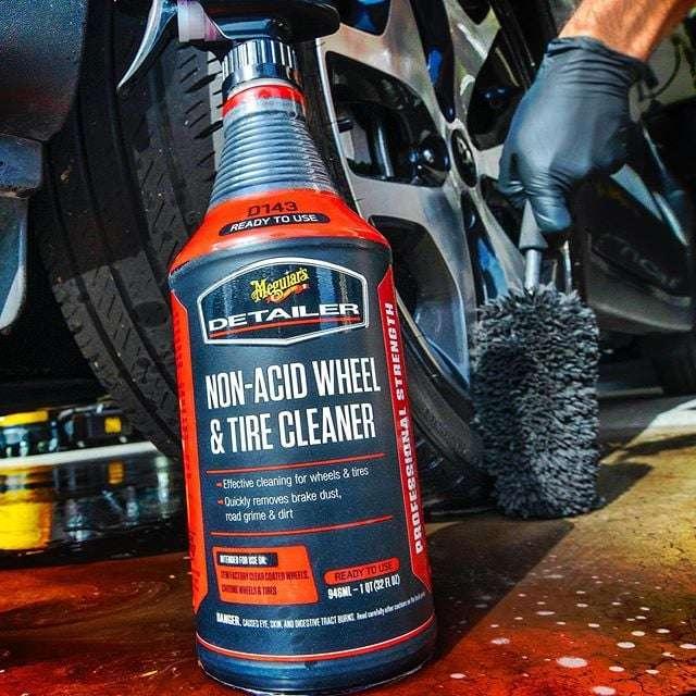 Meguiar's Non-Acid Wheel & Tyre Cleaner