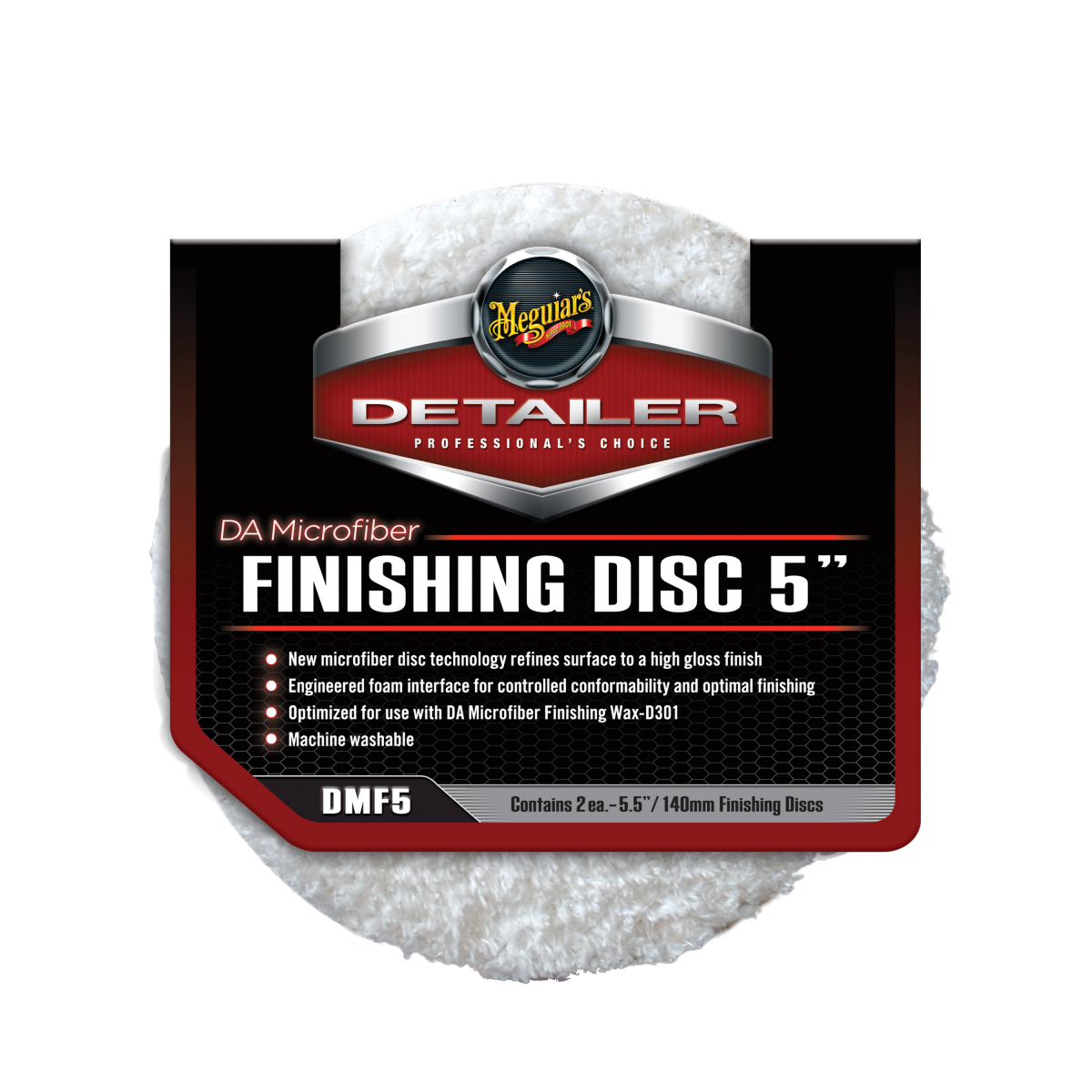 "Meguiar's DA Microfiber Finishing Disc 5"""