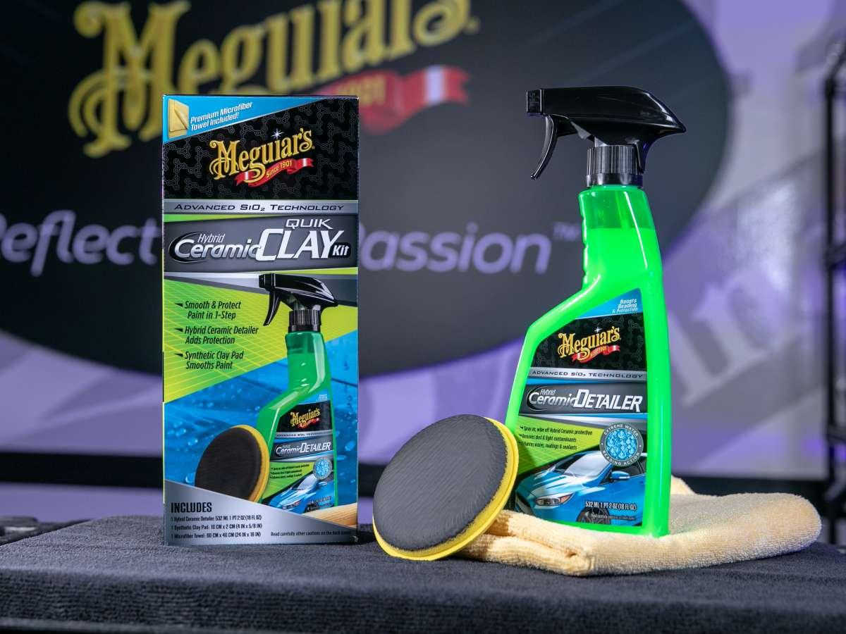 Meguiar's Hybrid Ceramic Synthetic Clay Kit