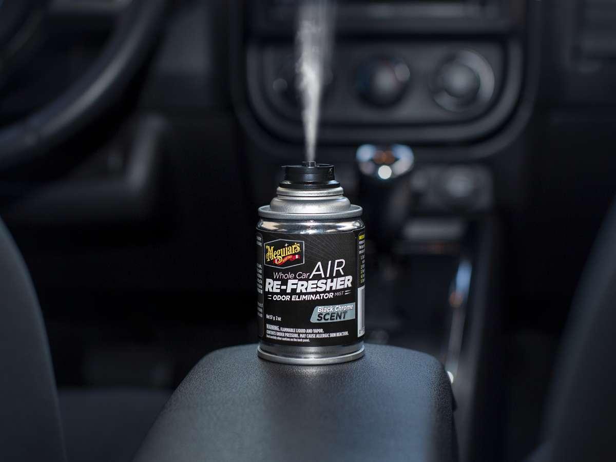 Meguiar's Whole Car Air Re-Fresher Odor Eliminator - Black Chrome
