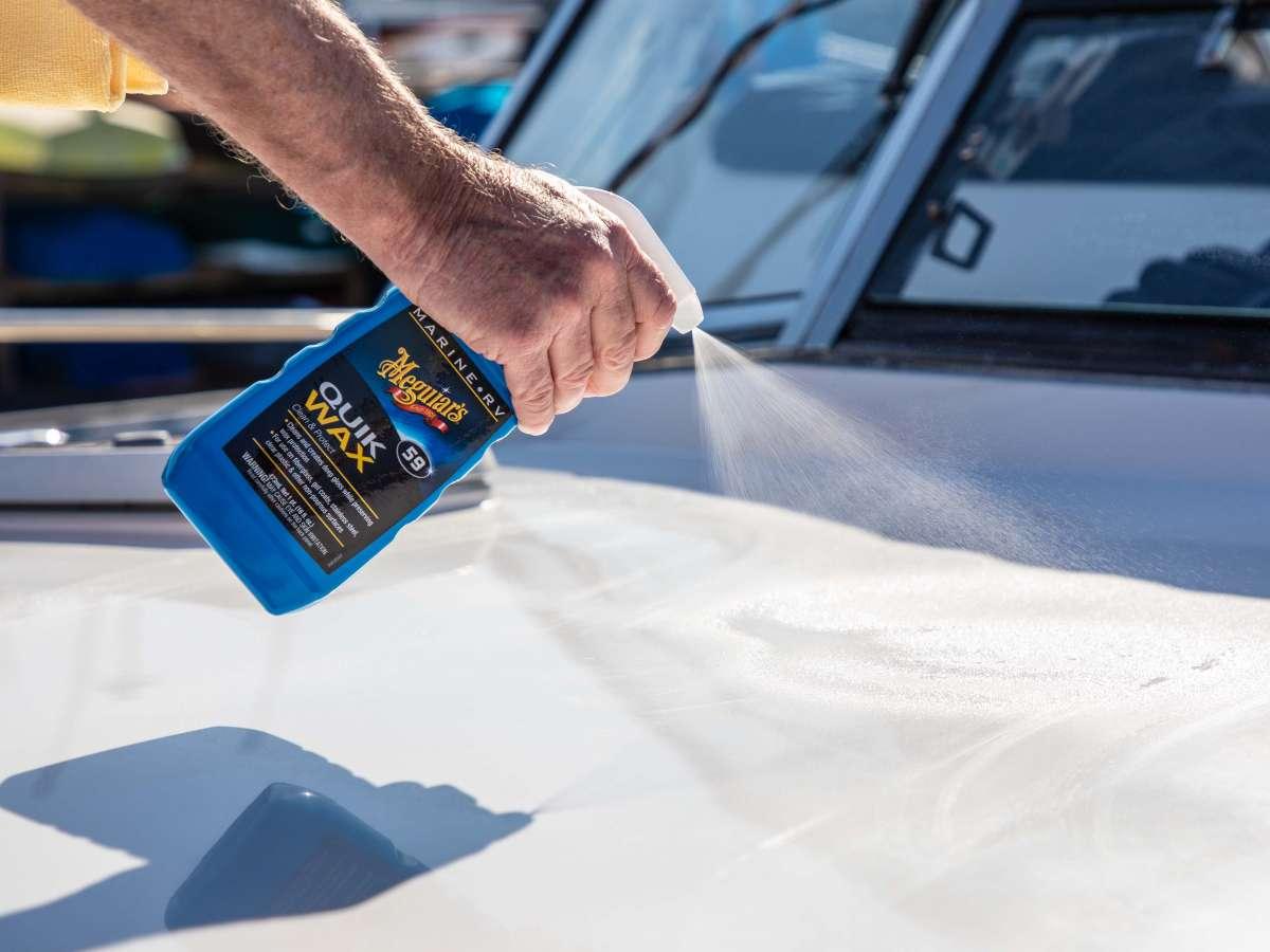 Meguiar's Marine/RV Quik Boat Spray Wax