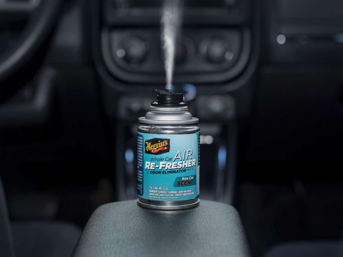 Meguiar's Whole Car Air Re-Fresher Odor Eliminator - New Car Scent