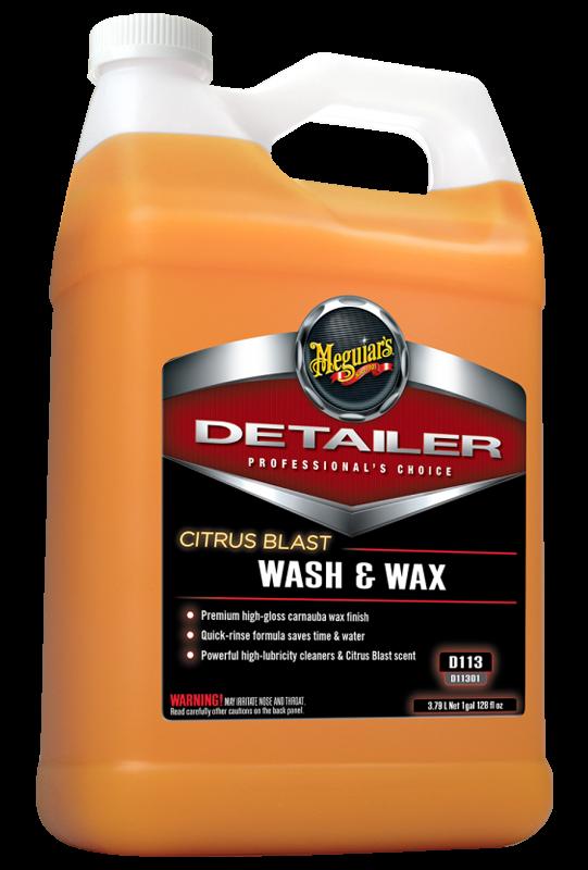 Meguiar's Citrus Blast Wash & Wax
