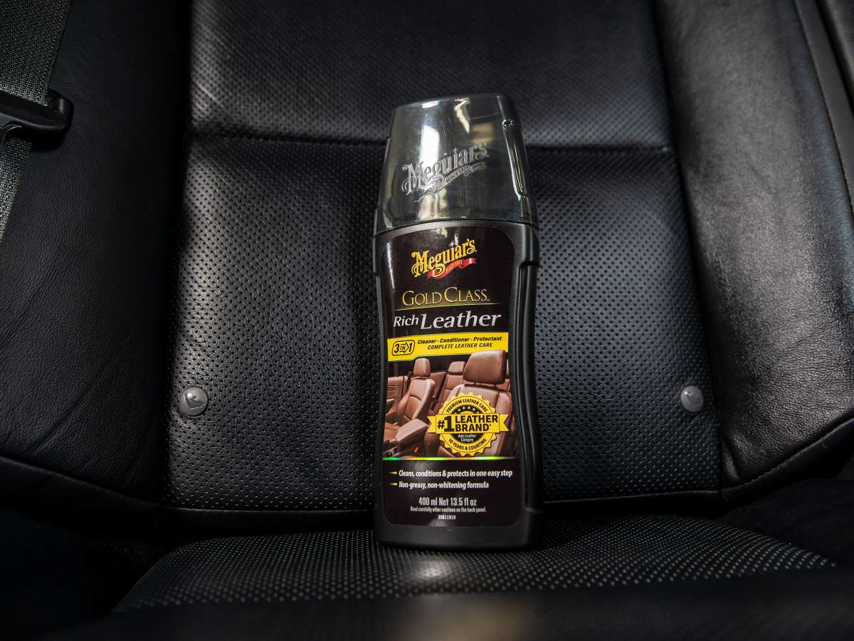 Meguiar's Gold Class Leather Cleaner & Conditioner