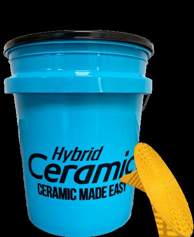 Meguiar's Ceramic Blue Bucket with Grit Guard + Lid